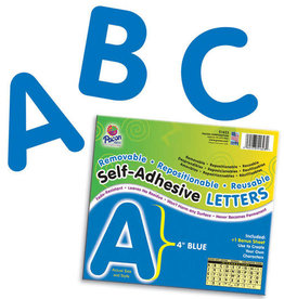 "Blue 4"" Self-Adhesive Letters"