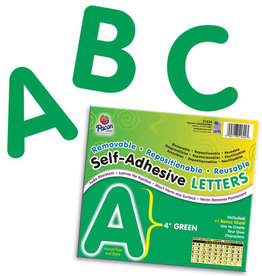 "Green 4"" Self-Adhesive Letters"