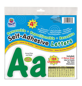 Green Self-Adhesive Letters 4""