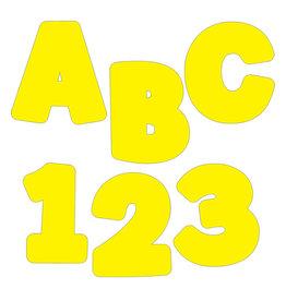 "Yellow 4"" EZ Letters"