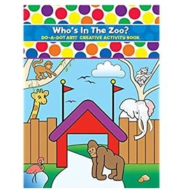Who's In the Zoo? Do a Dot Book