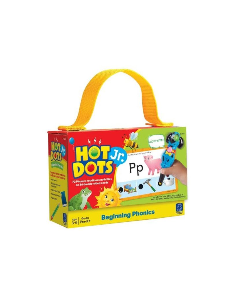 HOT DOTS JR. CARDS - BEGINNING PHONICS