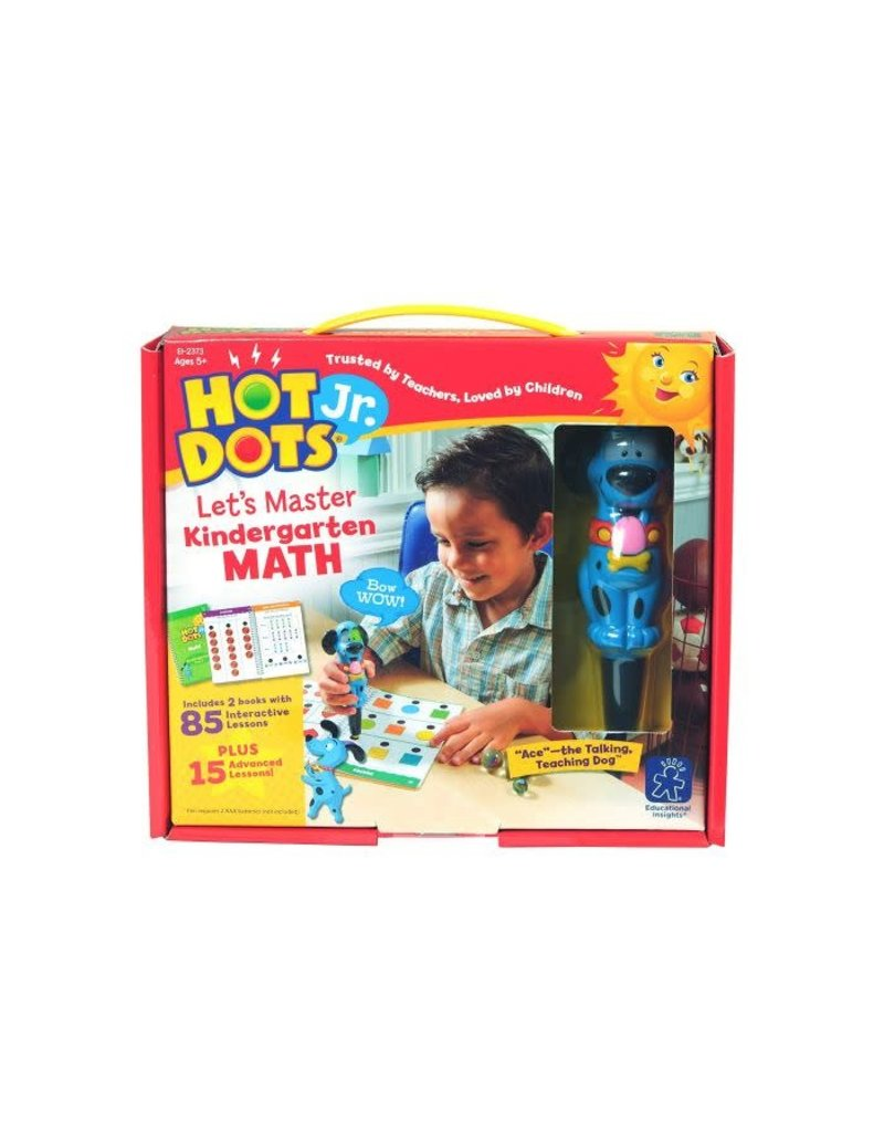 HOT DOTS JR. LET'S MASTER KINDERGARTEN M