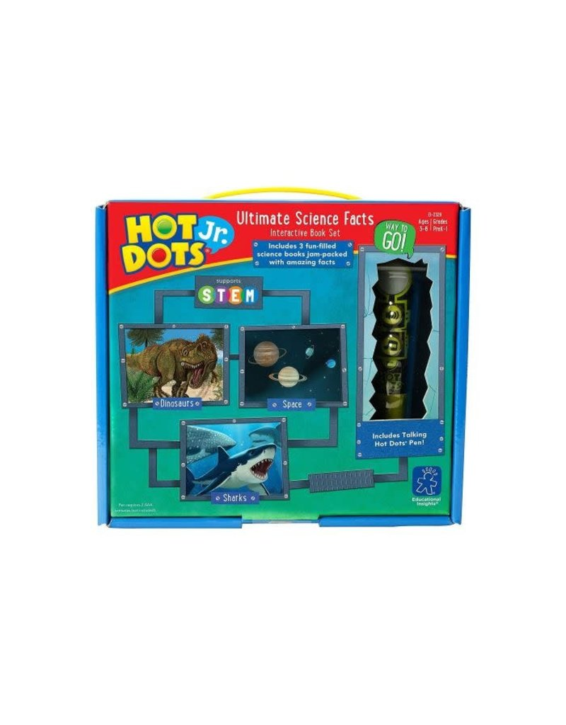 HOT DOTS JR. ULTIMATE SCIENCE SET + PEN