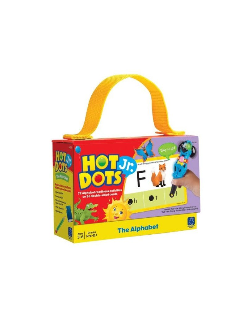 HOT DOTS JR. CARDS - THE ALPHABET