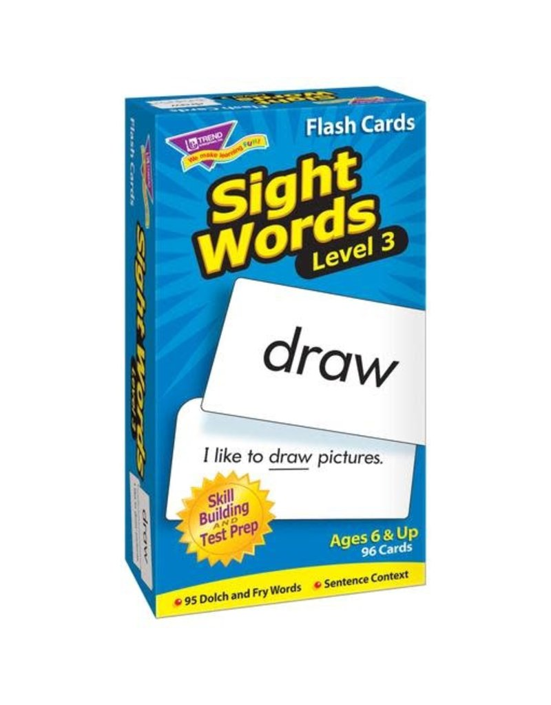 Sight Words – Level 3
