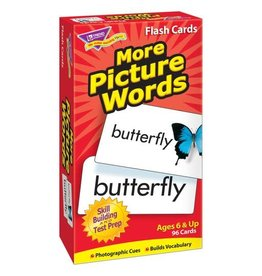 More Picture Words Flashcards