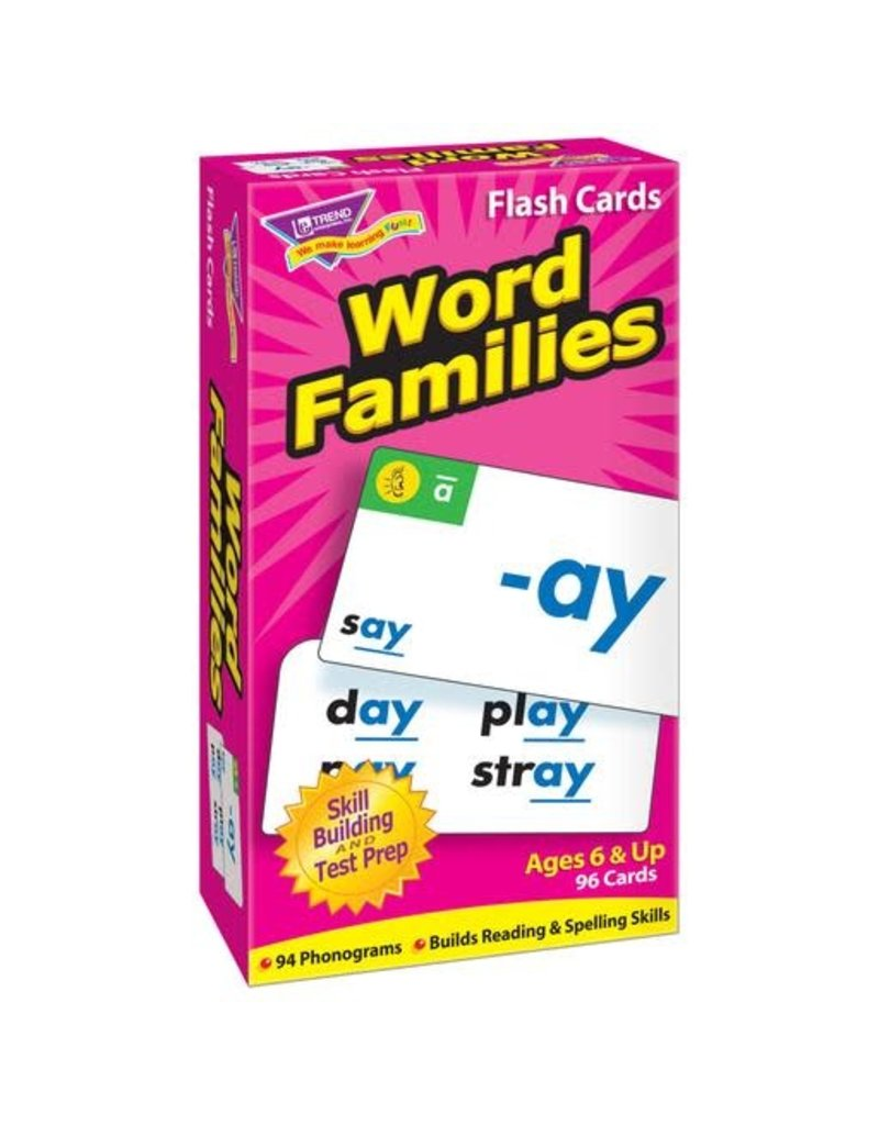 Word Families flashcards
