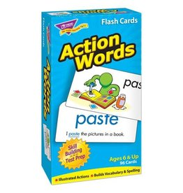 Action Words Flashcards