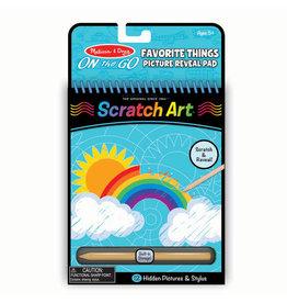 Favorite Things Scratch Art