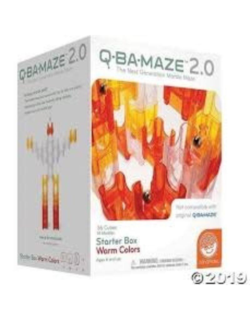 Q-Ba-Maze 2.0 Starter Box Warm Colors