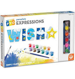Paint Your Own Porcelain Expressions: Wish