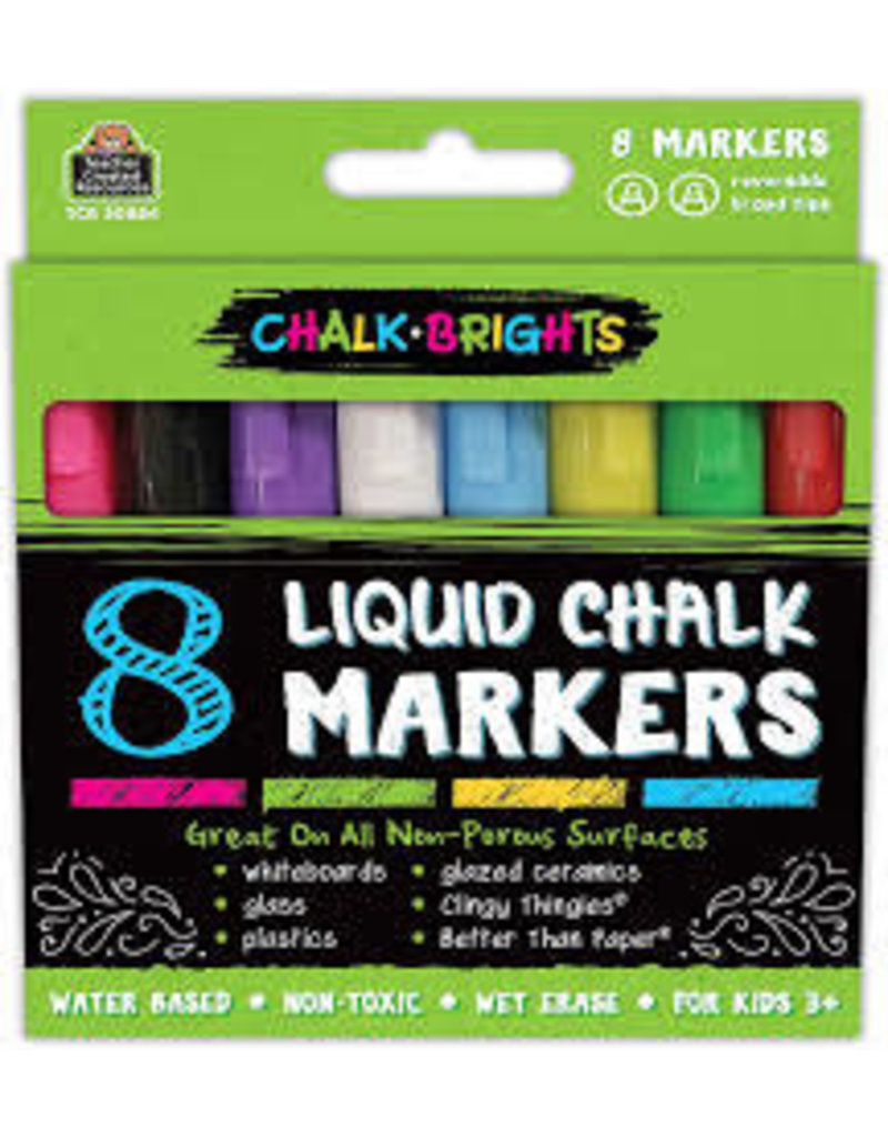 Chalk Brights Liquid Chalk Markers - 8-pack