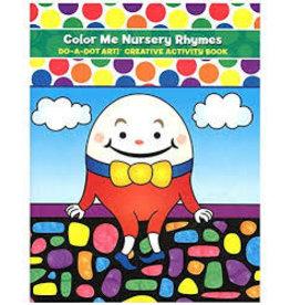 Nursery Rhymes-Do A Dot Book