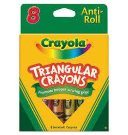 8 Triangular Crayons