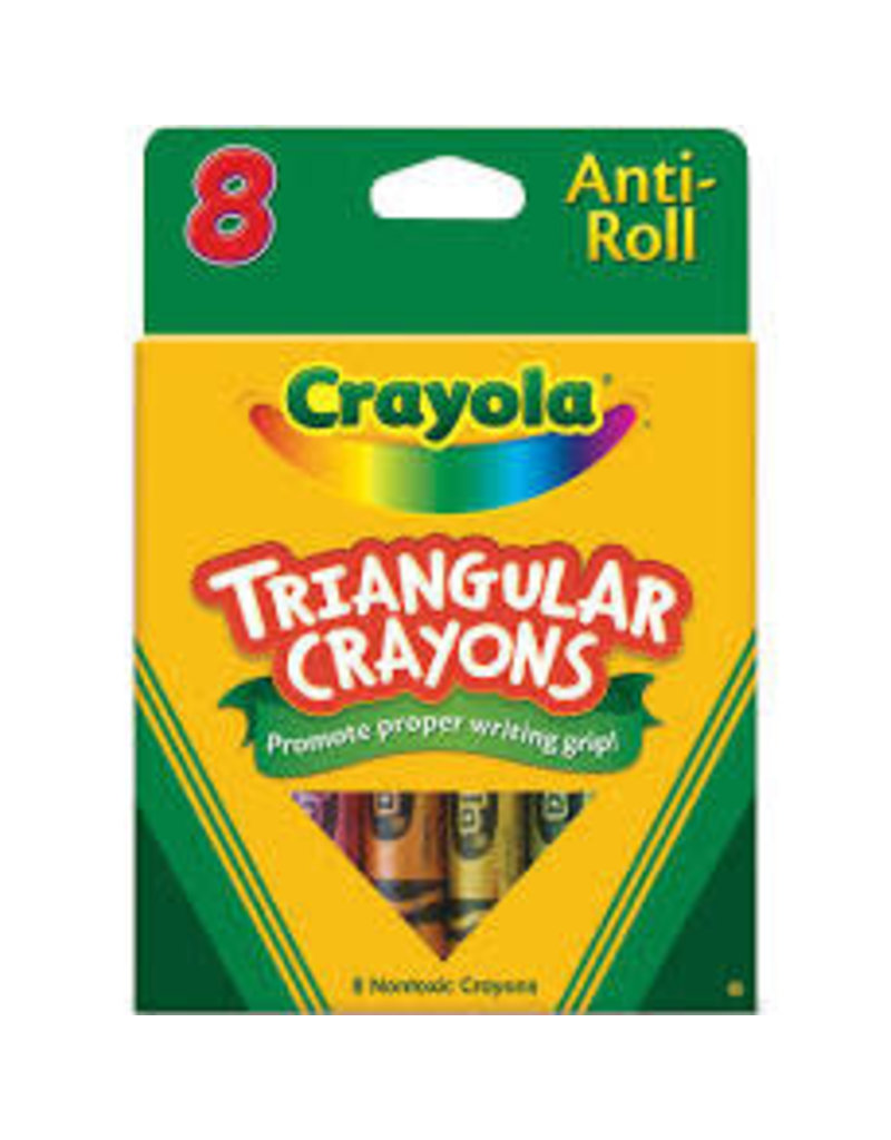 8 Triangular Crayons