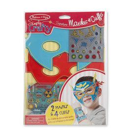 *Simply Crafty - Superhero Masks & Cuffs