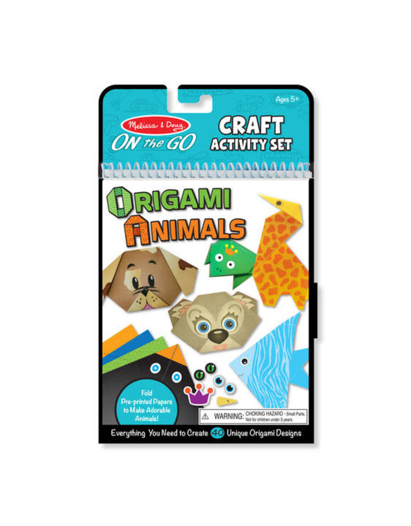 On-the-Go Crafts - Origami Activity Set