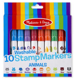 *10 Stamp Markers - Animals
