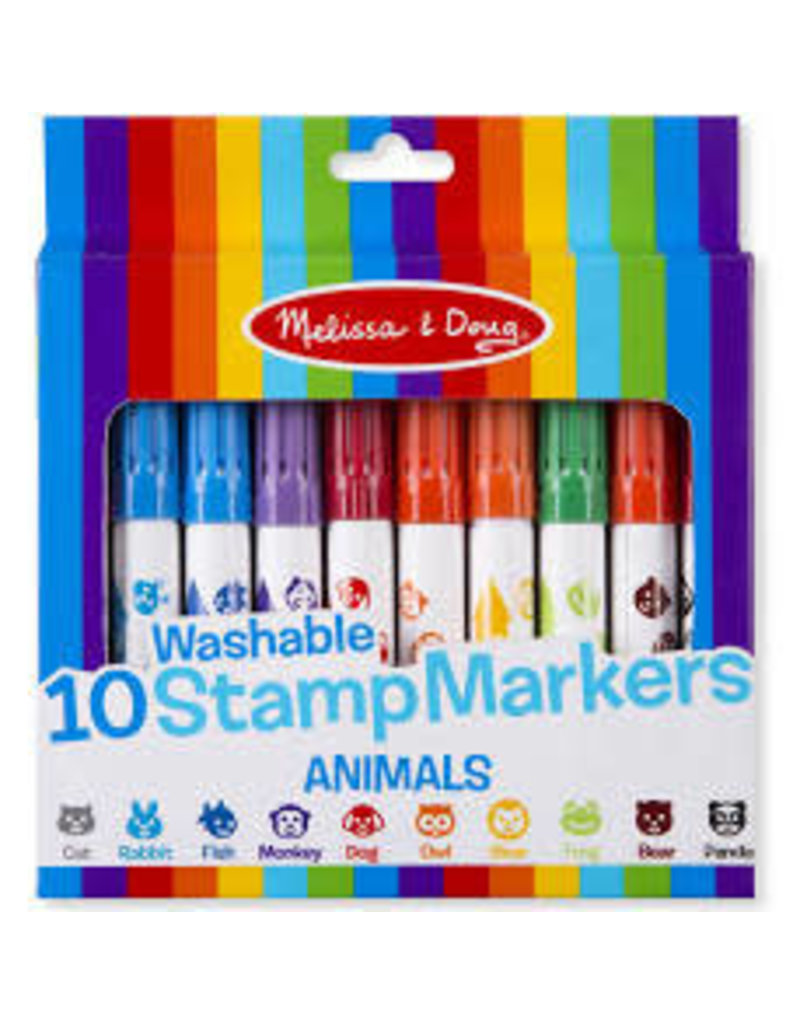 *10 Stamp Markers - Animals