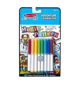 *Magic Pattern Coloring Pad - Adventure