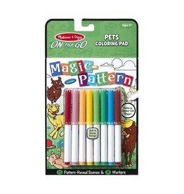Magic Pattern Coloring Pad - Pets