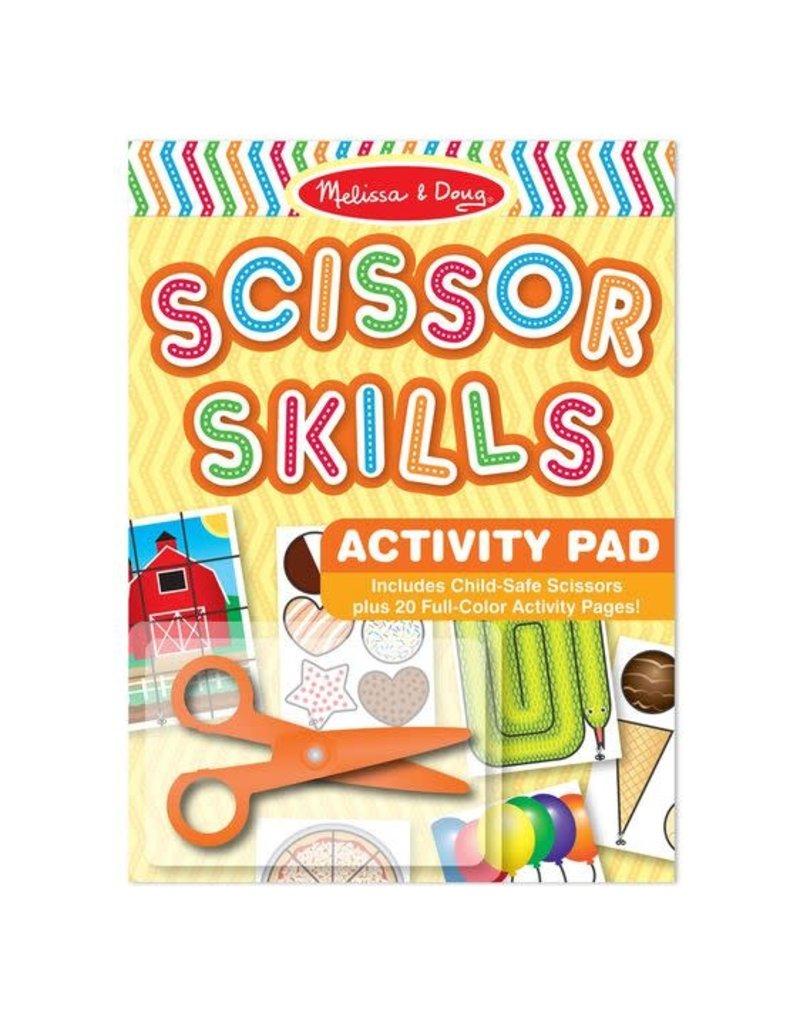 Scissors Skills Activity Pad