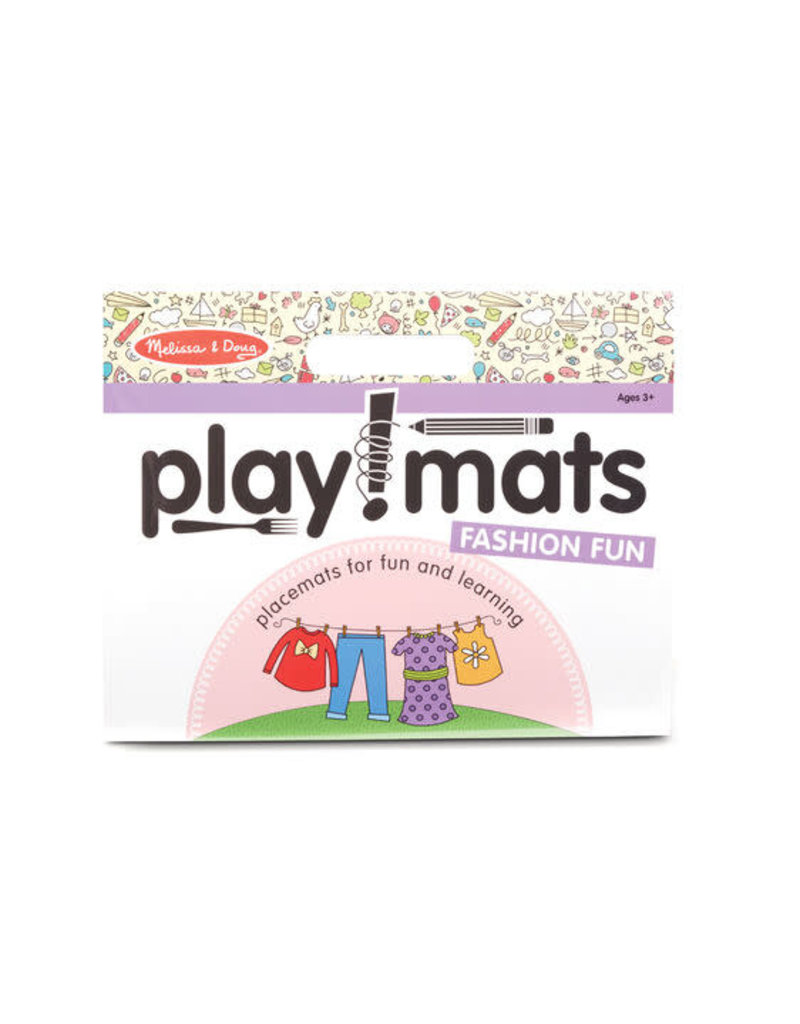 Playmats: Fashion Fun