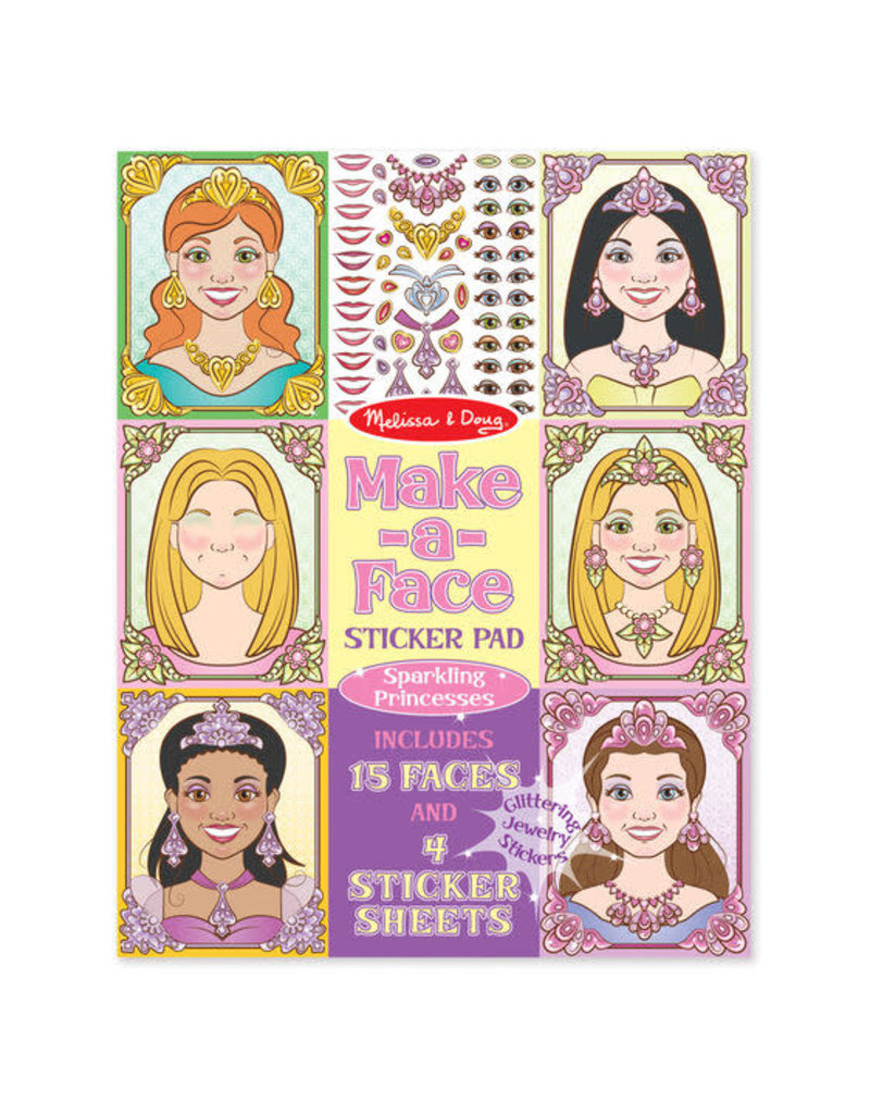 Make-a-Face Princesses