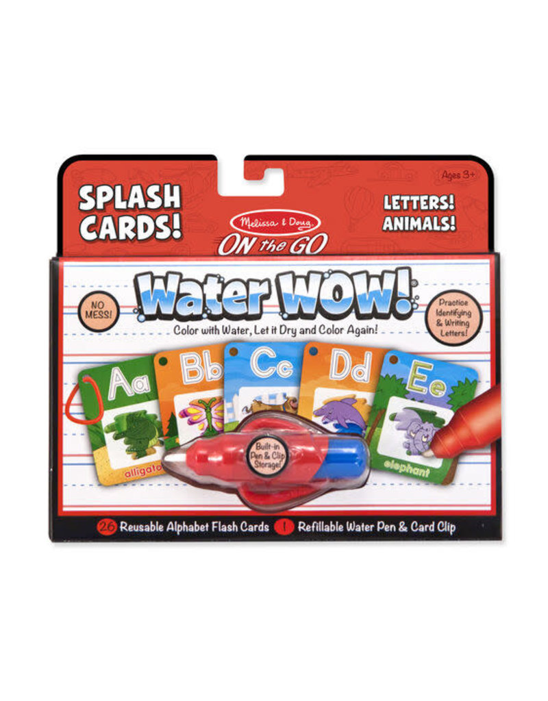 Water Wow! Letters! Animals! Splash Cards