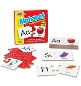 Alphabet fun to know puzzle
