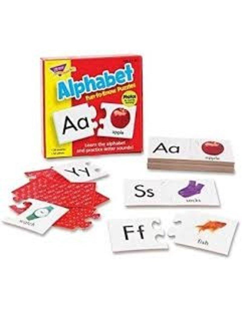 Alphabet fun to know puzzle