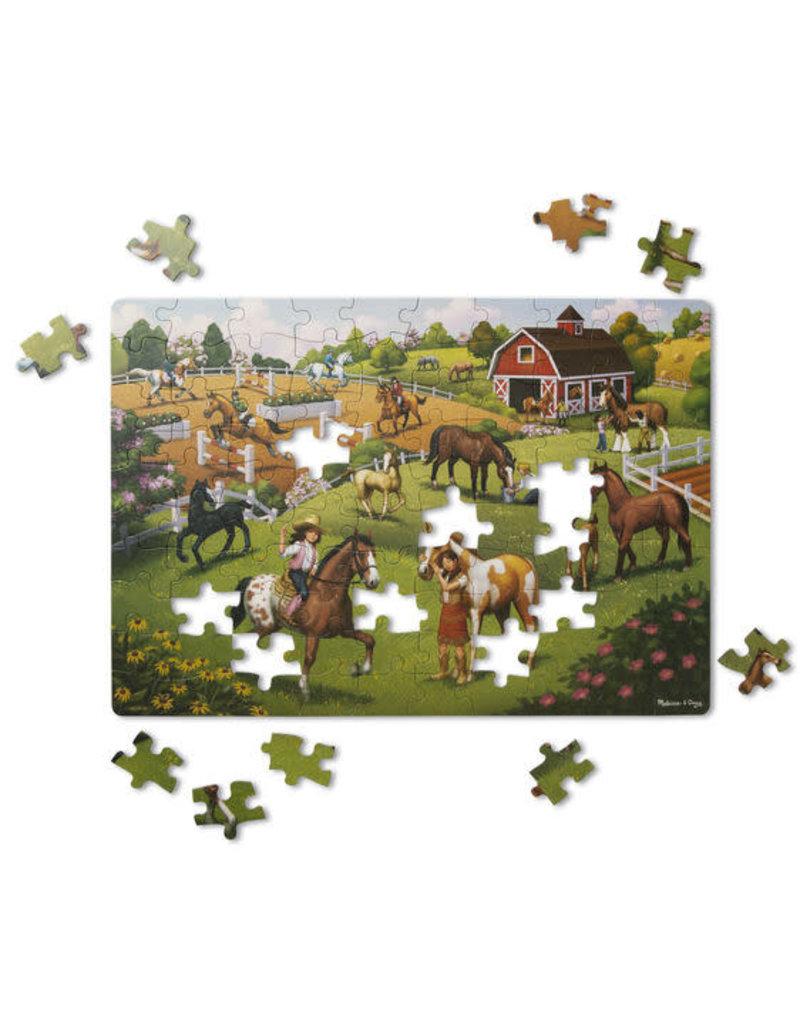 Horse adventure puzzle 100 pc