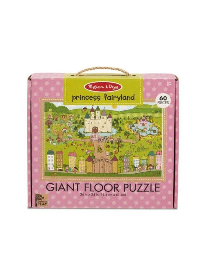 Princess Fairyland Giant  Floor Puzzle