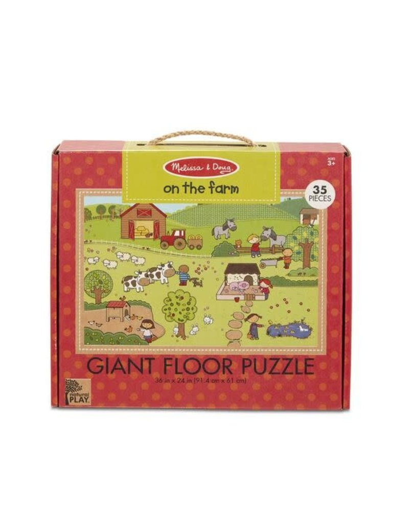 Natural Play Floor Puzzle On the Farm