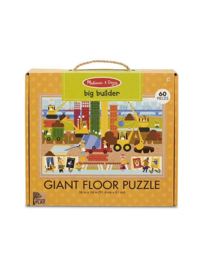 Natural Play Floor Puzzle Big Builder