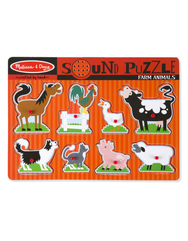 Farm Animals sound puzzles