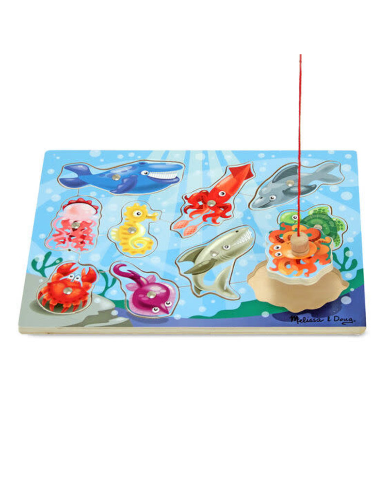 Fishing Magnetic Puzzle Game