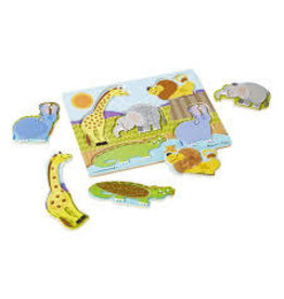 *Zoo Animals Touch & Feel Puzzle