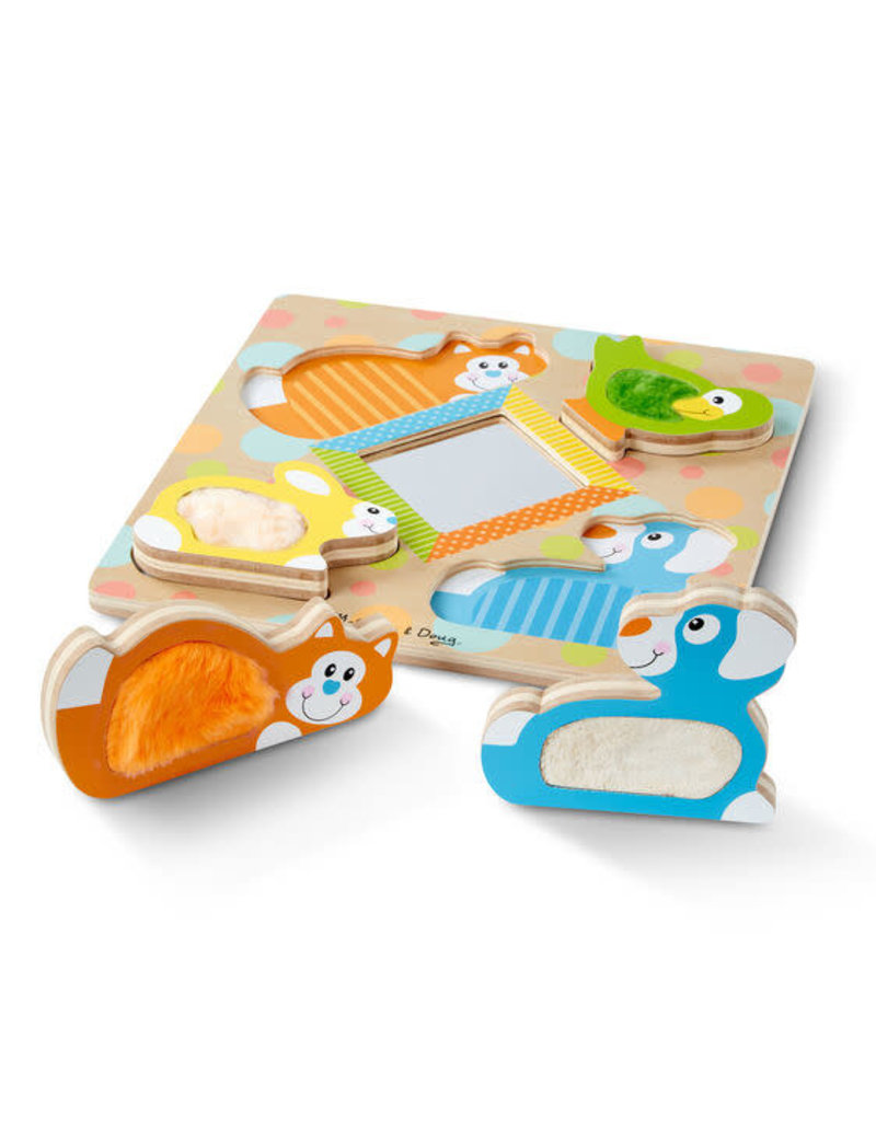 *Peek-a-Boo Touch & Feel Puzzle