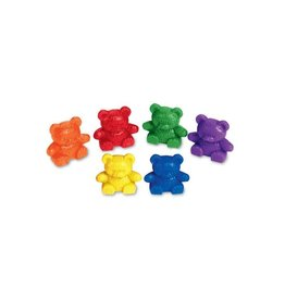 BABY BEAR COUNTERS (102 PC) 6 COLORS