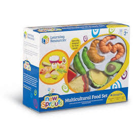 NEW SPROUTS MULTICULTURAL FOOD SET