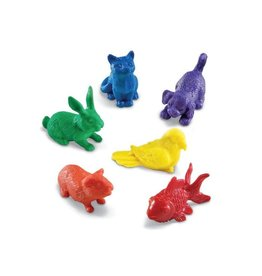 DOMESTIC PETS COUNTERS - SET OF 72