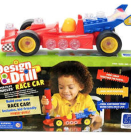 DESIGN & DRILL POWER PLAY- RACE CAR