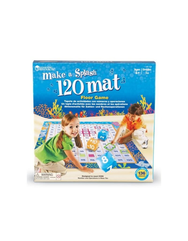 MAKE A SPLASH (TM) 120 MAT FLOOR GAME