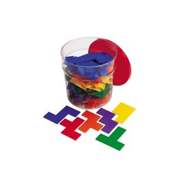 RAINBOW PREMIER PENTOMINOES (SET/6)