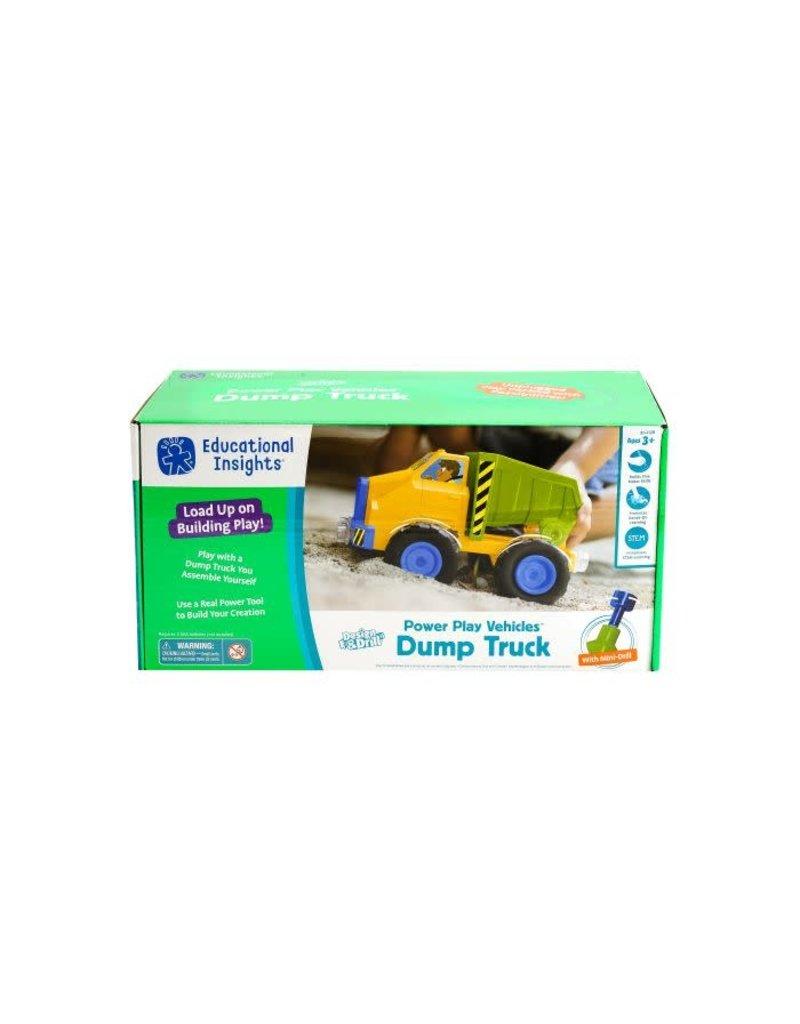 Design & Drill Power Play Vehicles Dump Truck