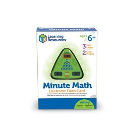 MINUTE MATH ELECTRONIC FLASH CARD(TM)