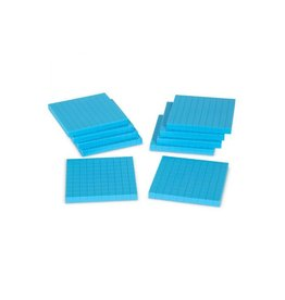 PLASTIC BASE TEN FLATS (10 PC)