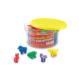 FRIENDLY FARM ANIMAL COUNTERS (72 PC)